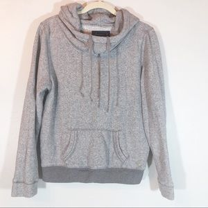 American Eagle Outfitters gray cowl hoodie